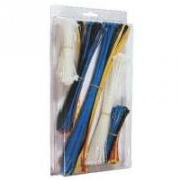 300 teiliges Premium Kabelbinder Sortiment im Weizenbierbecher