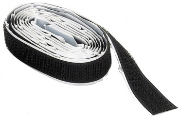 selbstklebendes Klettband - Hakenband, 16mm Breit 25 Meter Rolle