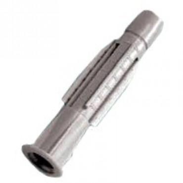 Universal Dübel mit Bund, für 10 mm Bohrloch, grau